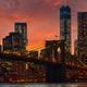 Brooklyn Bridge with lower Manhattan skyline - PhotoDune Item for Sale