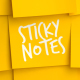 Sticky Notes Promo Logo - VideoHive Item for Sale