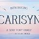 Carisyn – Serif Font Family