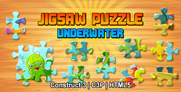 Jigsaw Puzzle Game (Construct 3   C3P   HTML5)