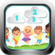 Number Clouds Game (Construct 3 | C3P | HTML5) Kids Educational Game