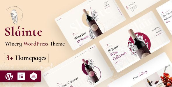 Download Slainte –  Winery & Wine Store WooCommerceTheme Free Nulled