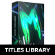 Motion Titles Library - Animated Text Package - VideoHive Item for Sale