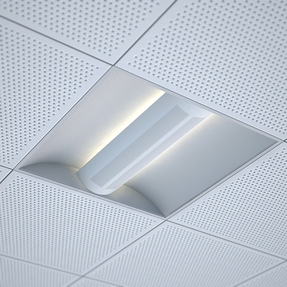 Ordinaire Office Recessed Ceiling Light