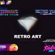 Retro 80s Titles