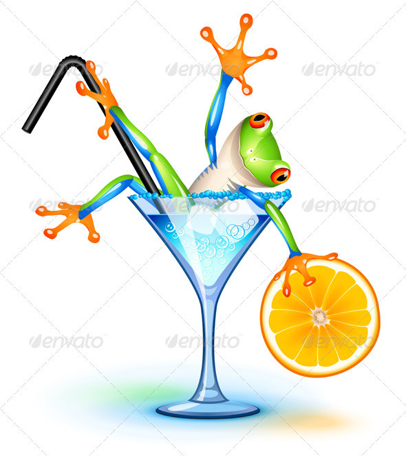 Cocktail Frog - Miscellaneous Seasons/Holidays