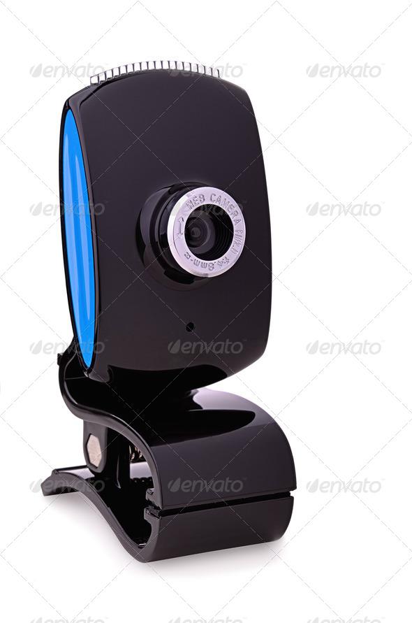 Web camera - Stock Photo - Images