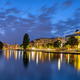 The river Spree in downtown Berlin at night - PhotoDune Item for Sale