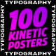 100 Kinetic Typography Posters | After Effects - VideoHive Item for Sale