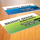 Bright Spark Print Ready Business Card - GraphicRiver Item for Sale