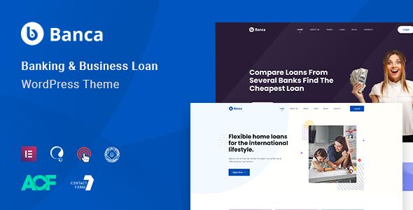 Download Banca – Banking, Finance & Business LoanWordPress Theme Free Nulled