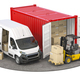 Delivery logistic and shipping concept - PhotoDune Item for Sale