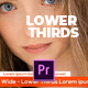 Creative and Modern Lower Thirds - VideoHive Item for Sale