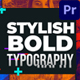 Dynamic Stylish Opener - VideoHive Item for Sale
