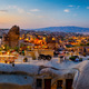 Goreme town on sunset - PhotoDune Item for Sale