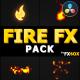 Flash FX FIRE Elements | DaVinci Resolve - VideoHive Item for Sale