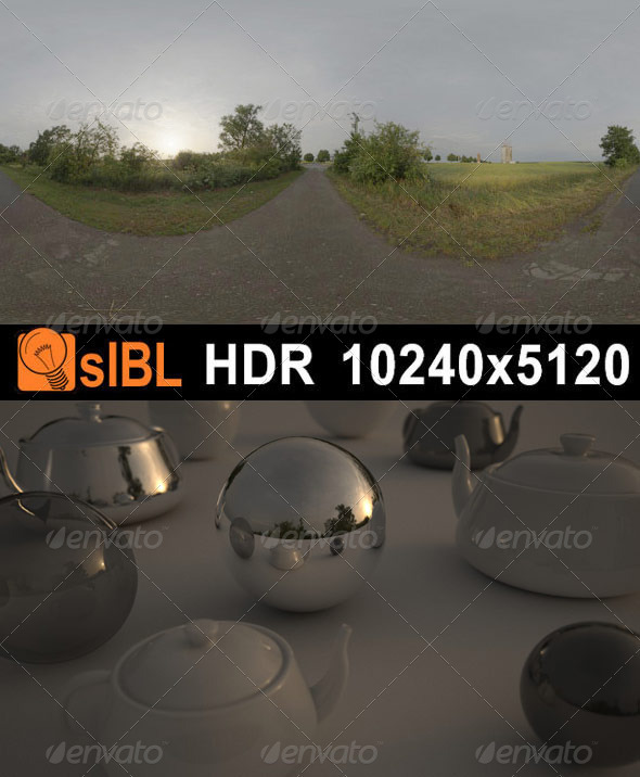HDR 062 Road Dawn sIBL - 3DOcean Item for Sale