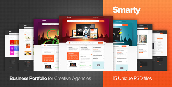 Smarty – Business Portfolio for Creative Agencies