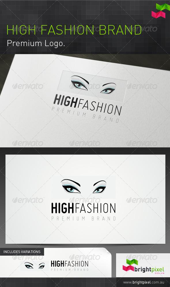 High Fashion Brand - Humans Logo Templates
