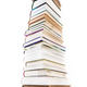 Pile of books isolated on white background - PhotoDune Item for Sale