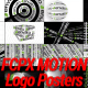 Typographic Kinetic Logo Posters - VideoHive Item for Sale