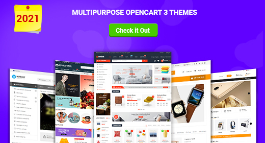 Best Multipurpose OpenCart Themes 2021   Feature-rich & Elegant Designs