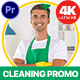 Cleaning Service Promo (MOGRT) - VideoHive Item for Sale