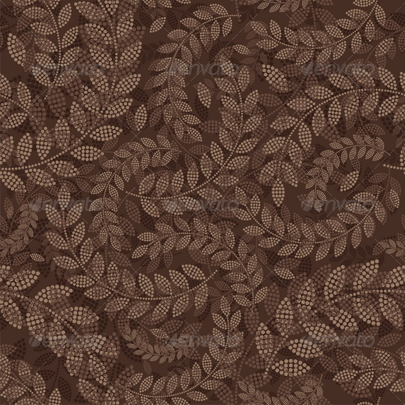 Decorative floral seamless pattern - Backgrounds Decorative