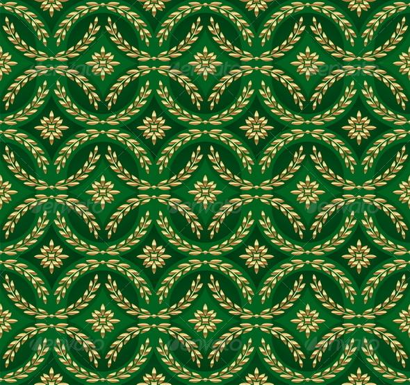 Decorative Ornamental Seamless Pattern  - Backgrounds Decorative