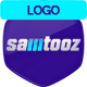 Glitch Noise Logo