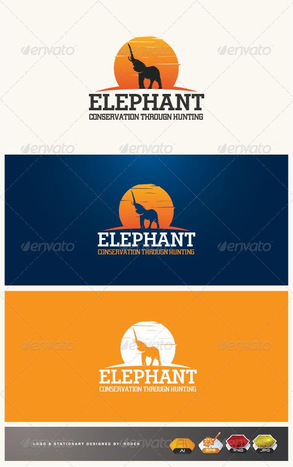 Elephant - Animals Logo Templates