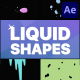 Liquid Shapes   After Effects - VideoHive Item for Sale