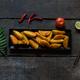 Crispy potato wedges - PhotoDune Item for Sale