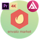 4K Liquid Logo -  | For Premiere Pro - VideoHive Item for Sale