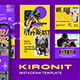 Kironit Instagram Template