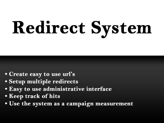 Redirect System