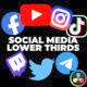 Social Media Lower Thirds v2 - VideoHive Item for Sale