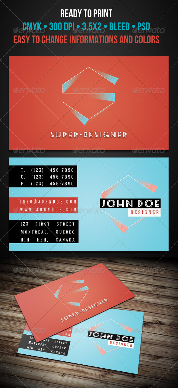 Original Business Cards - Creative Business Cards