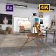 The Artist's Studio - VideoHive Item for Sale