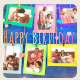Colorful Happy Birthday Photo Opener - VideoHive Item for Sale