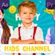 Kids Channel Opener| MOGRT - VideoHive Item for Sale