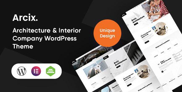 Excellent Arcix - Architecture WordPress Theme