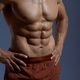 Muscular male athlete, photo shoot in studio - PhotoDune Item for Sale