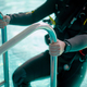 Male diver in scuba gear climb out of the pool - PhotoDune Item for Sale