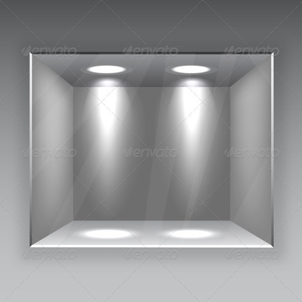 Empty Store Shelf - Backgrounds Business