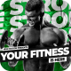Powerful Bodybuilding Fitness Blog Intro - VideoHive Item for Sale