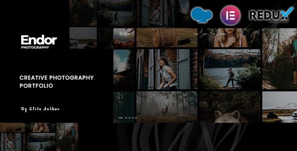 Endor - Creative Photography Portfolio WordPress Theme
