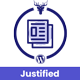 Advanced Justified Blog Layout Design