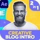 Creative Blog Intro
