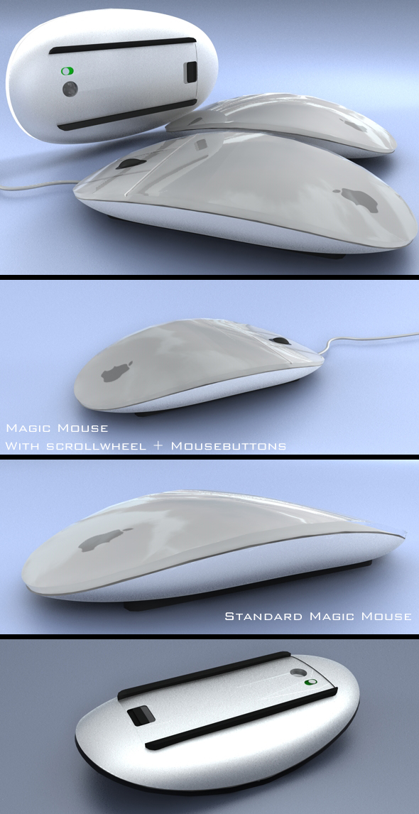 Magic Mouse - 3DOcean Item for Sale